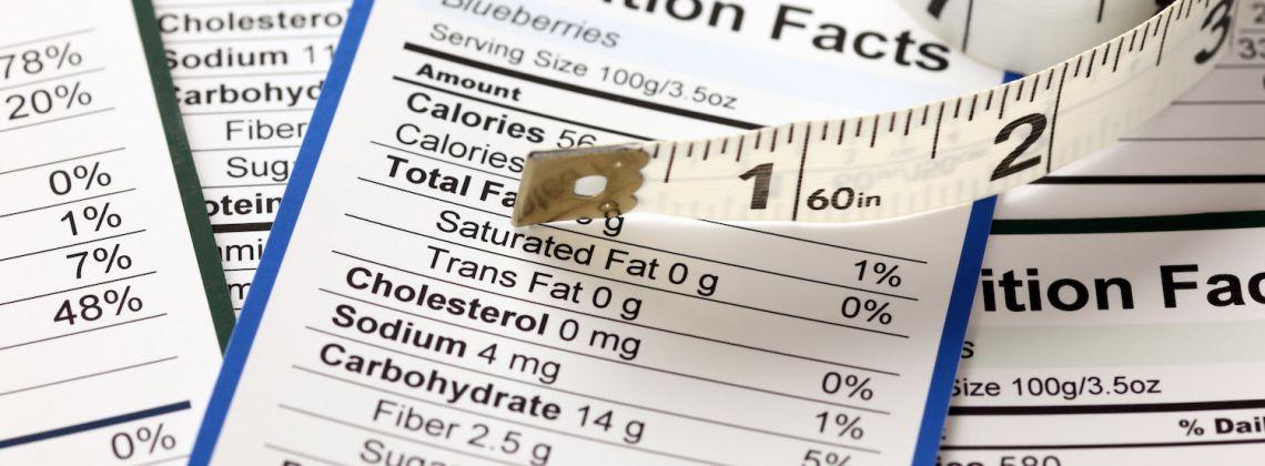 Czytamy tabelę wartości odżywczych produktów