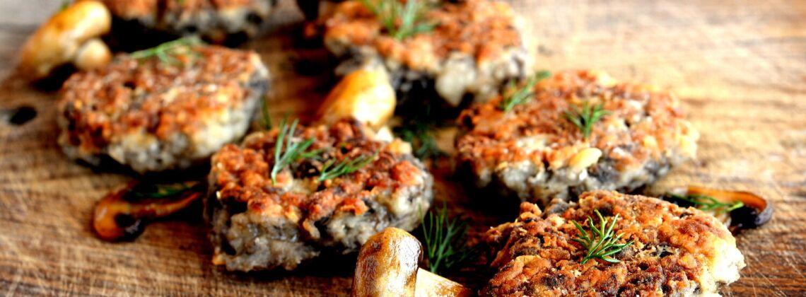 Przepis na kotlety z suszonych grzybów