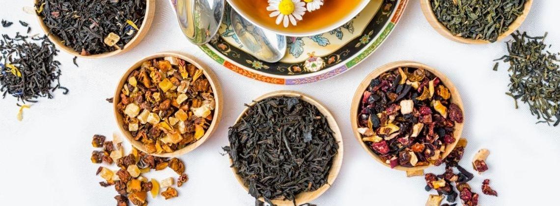 Rodzaje herbat świata