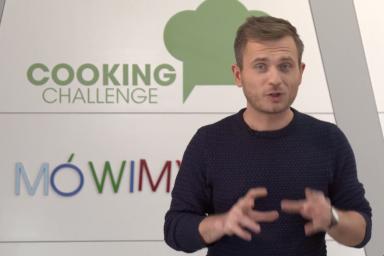 O języku słów kilka w Cooking Challenge opowie Jacek Pasternak!