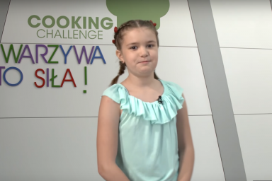Kolorowe warzywa Julii Cymbaluk w Cooking Challenge!