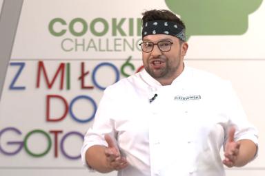 Z miłości do gotowania, czyli Szymon Czerwiński w Cooking Challenge!