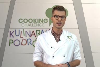 Głodny świata Filip Turowski w Cooking Challenge!
