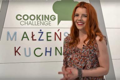 Gotowanie w parze, czyli Gosia Leśniarek w Cooking Challenge!