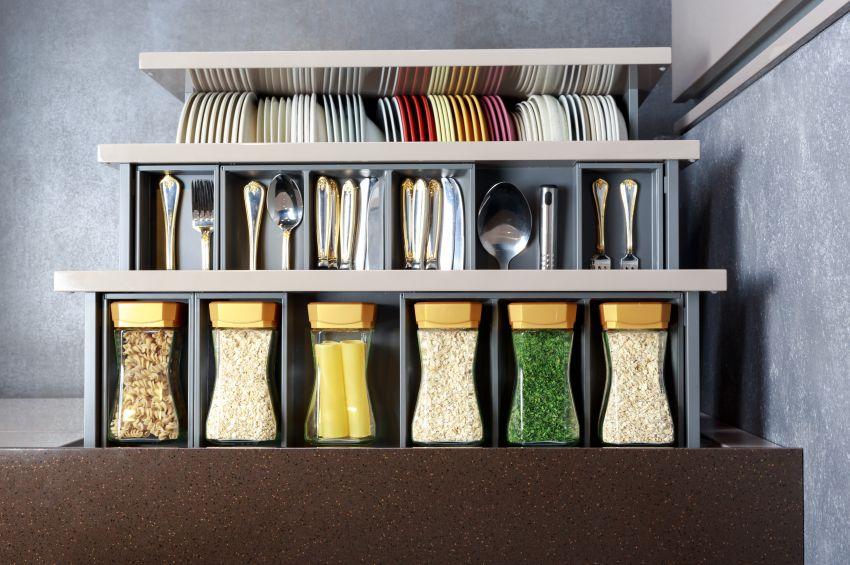 Przechowywanie i organizacja w kuchni
