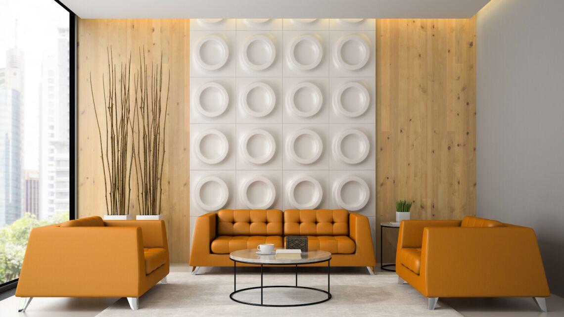 Gdzie warto zamontować dekoracyjne panele 3D?