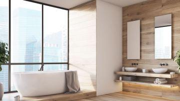 łazienka Z Drewnem Pomysły I Aranżacje Urządzanie Domu