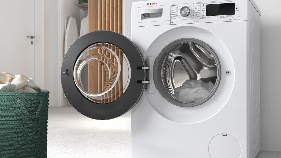 Pralka Bosch zna wszystkie metody prania