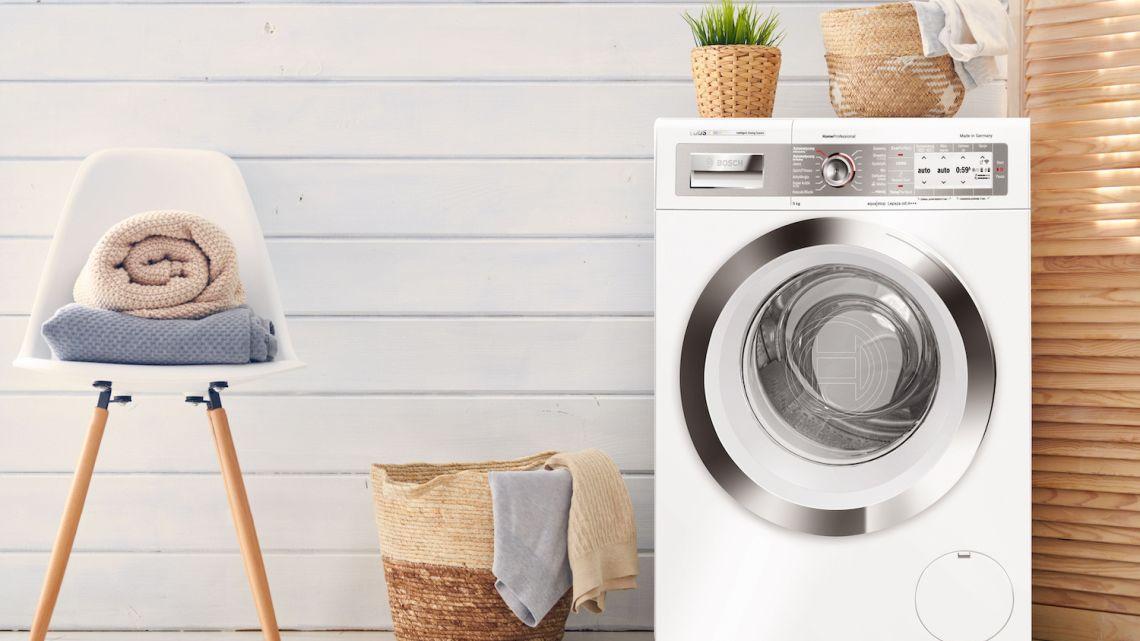 Pralka podpowiada, ile prania włożyć do bębna