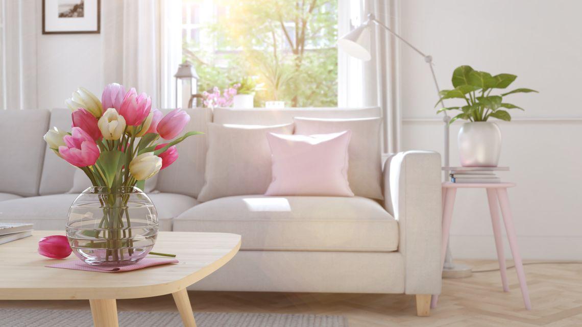 Wiosenne dekoracje, wiosenne porządki – wiosna w domu!