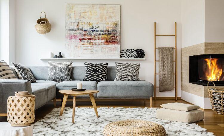 Dywan do salonu: nowoczesne wzory do wnętrz