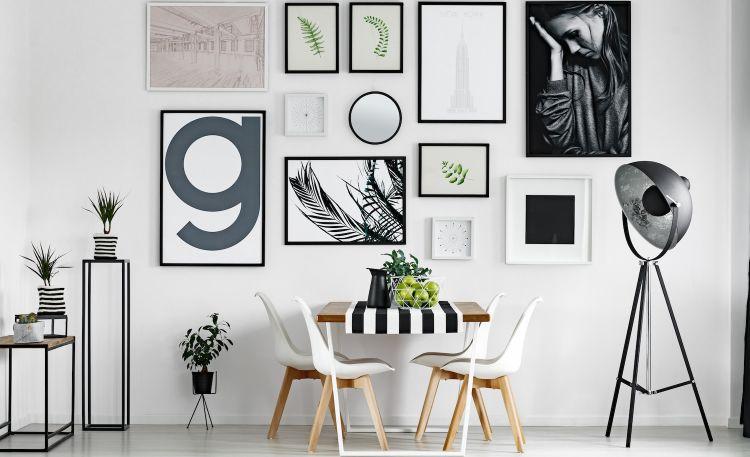 Galeria ścienna w mieszkaniu – zasady kompozycji