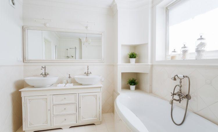 Łazienka w stylu retro – pomysły i inspiracje