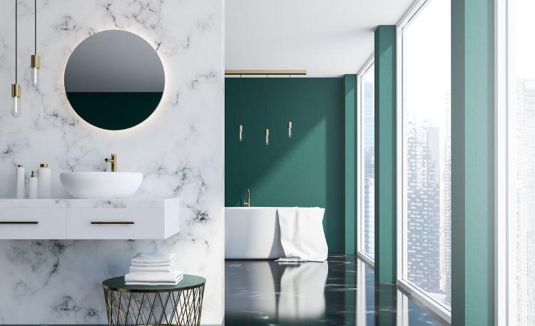 Lustro do łazienki – montaż i oświetlenie