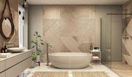 Łazienka w stylu japońskim