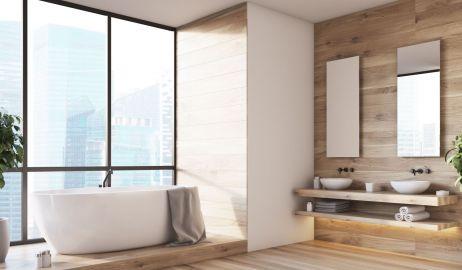 Łazienka z drewnem – pomysły i aranżacje