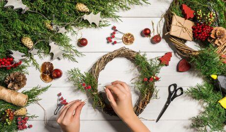 Ozdoby bożonarodzeniowe do domu zrób to sam