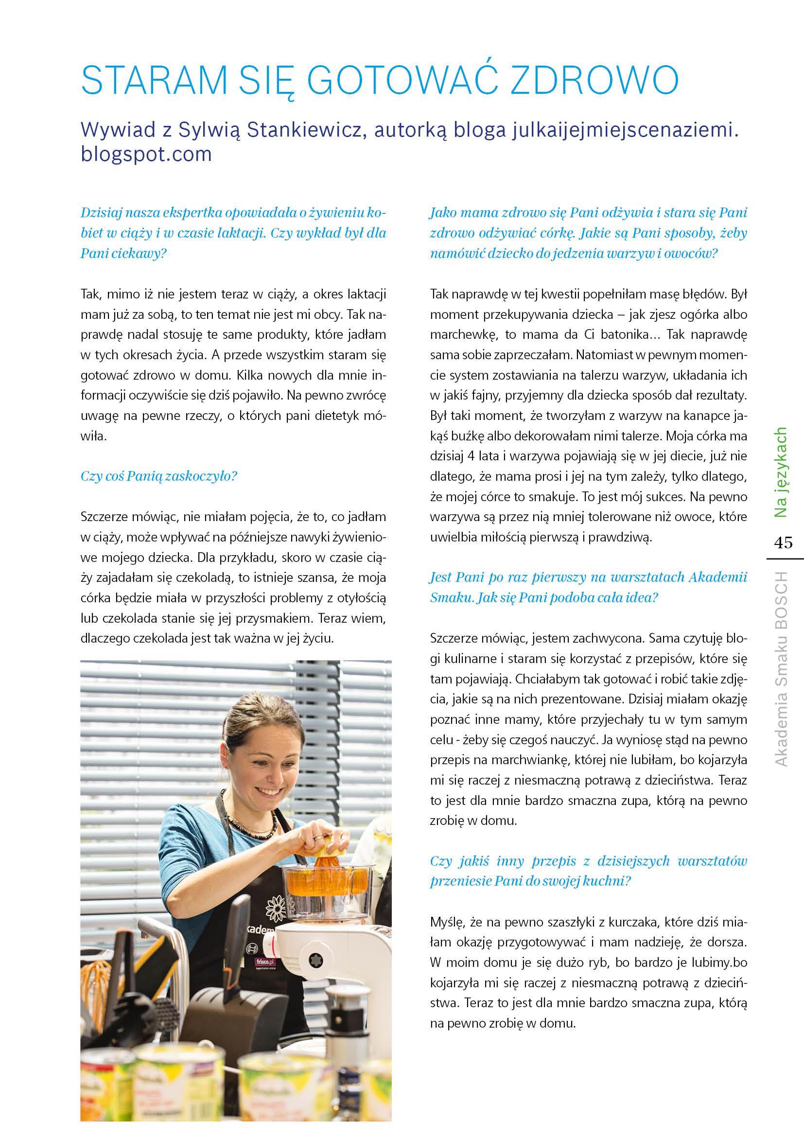 Jedz zdrowo! Przyszła mama w kuchni - Strona 45