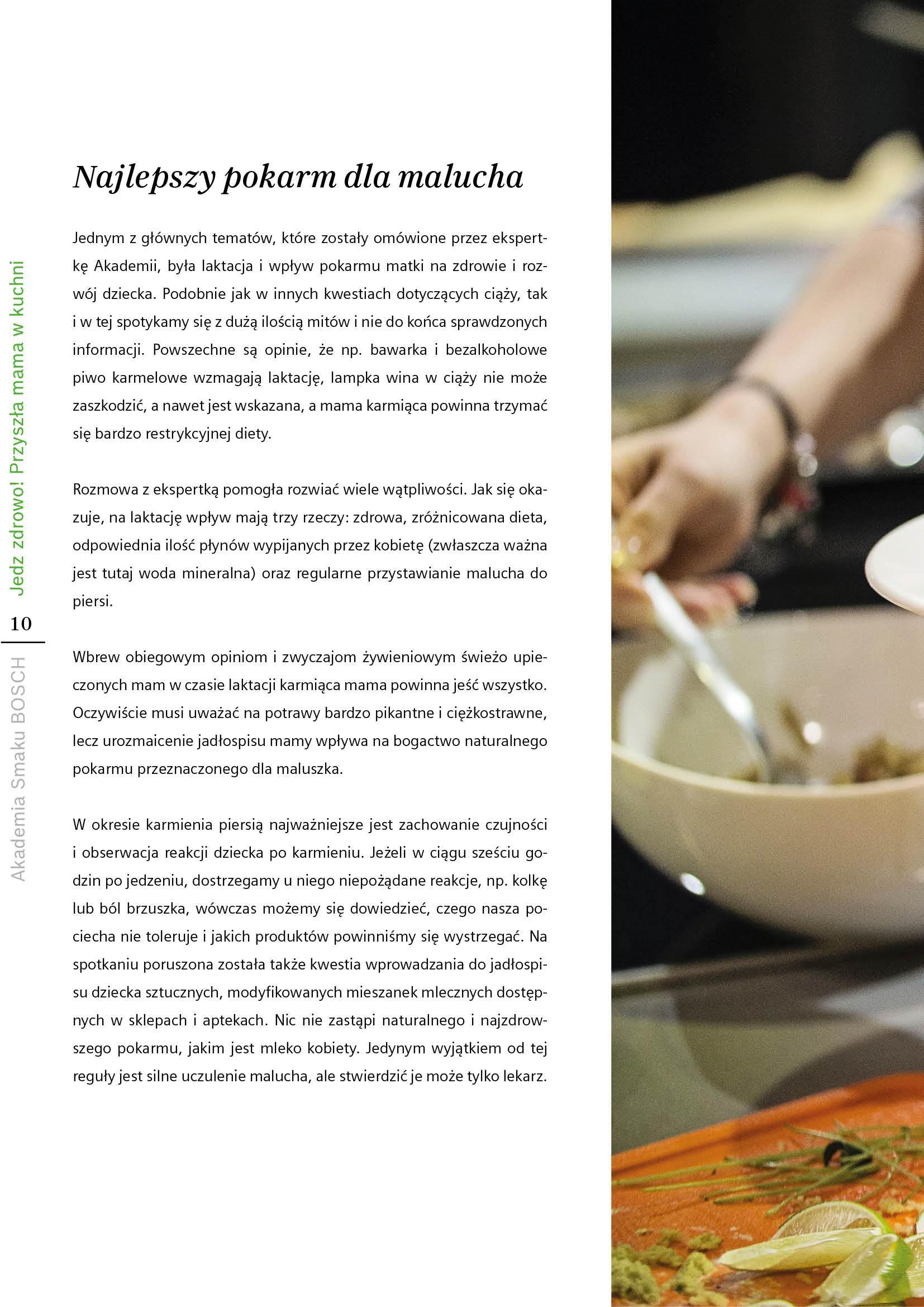 Jedz zdrowo! Przyszła mama w kuchni - Strona 10