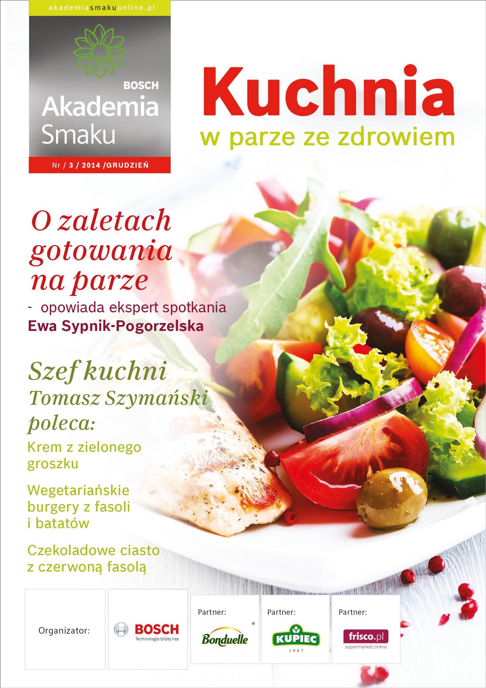 Kuchnia w parze ze zdrowiem - Strona 1