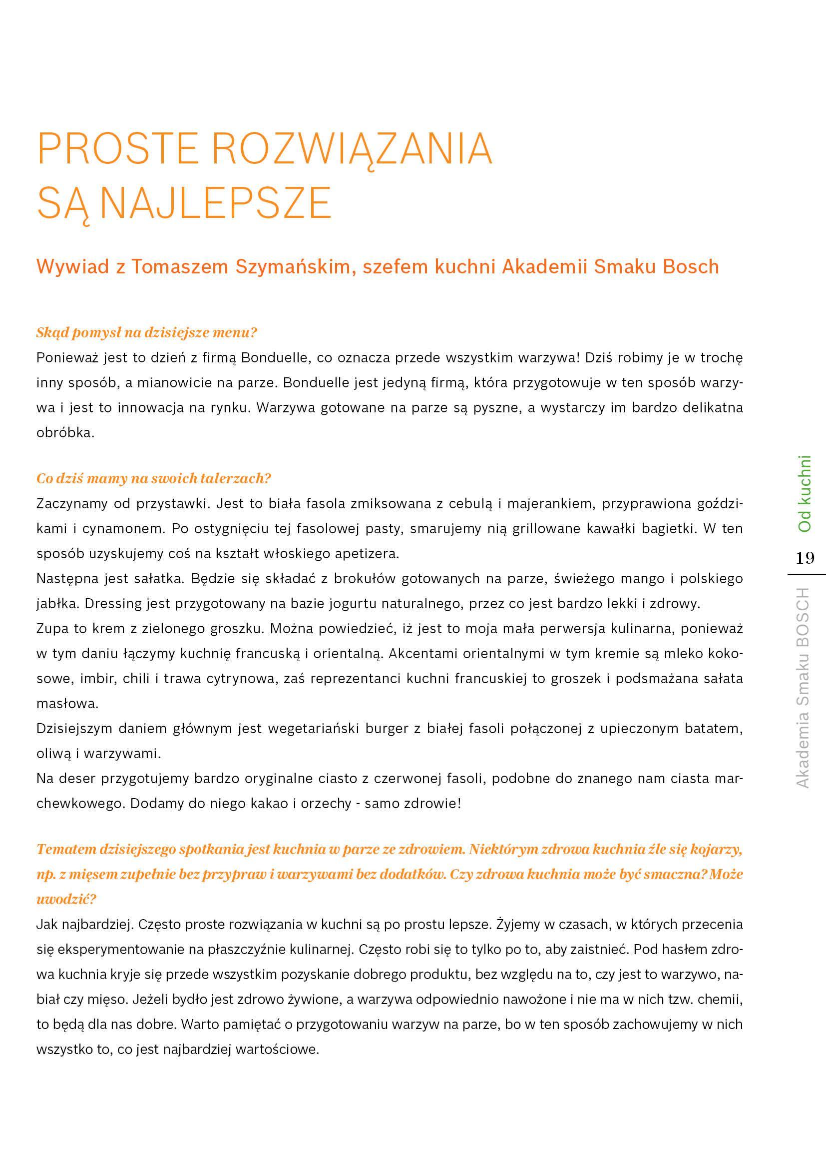 Kuchnia w parze ze zdrowiem - Strona 19