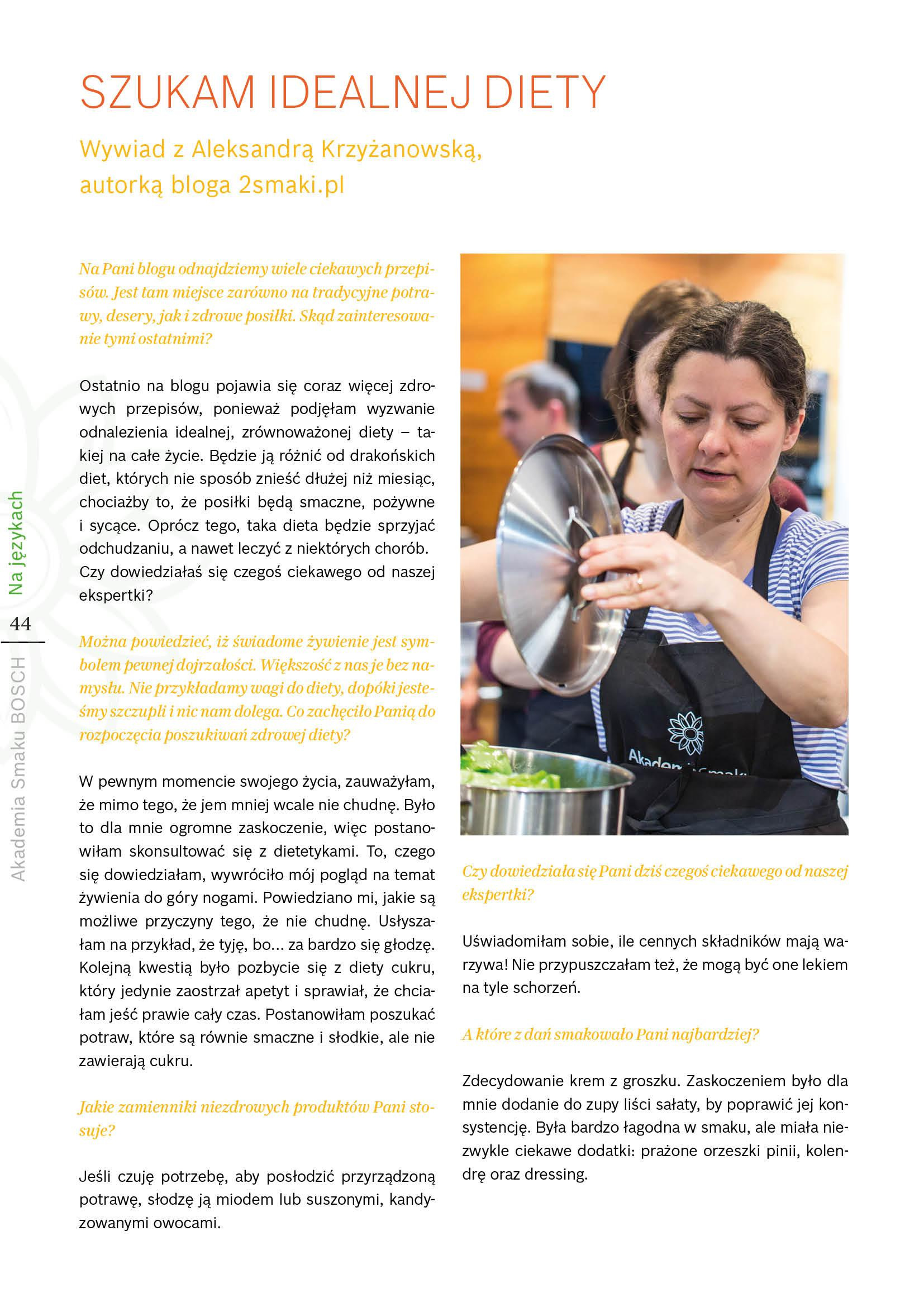 Kuchnia w parze ze zdrowiem - Strona 44