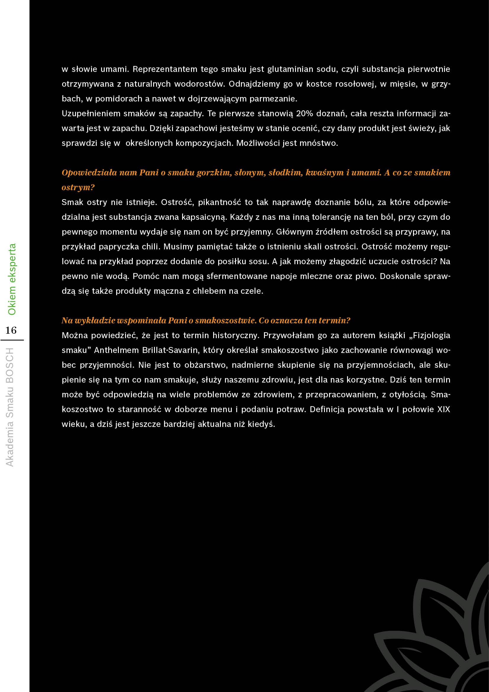 Filozofia smaku - Strona 16
