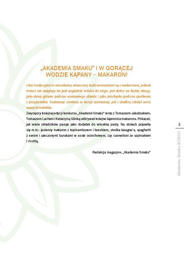 W gorącej wodzie kąpany - makaron - Strona 5
