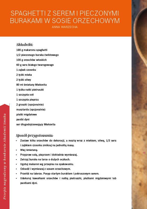 W gorącej wodzie kąpany - makaron - Strona 28