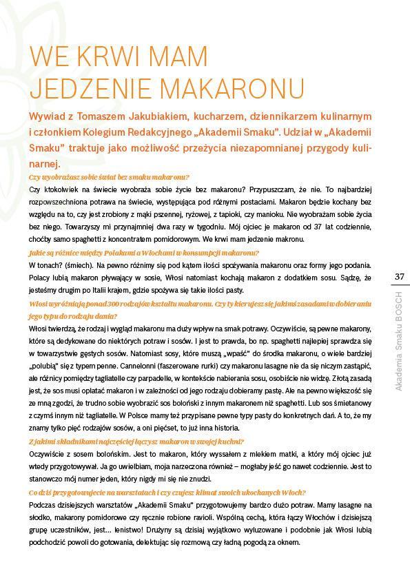 W gorącej wodzie kąpany - makaron - Strona 37