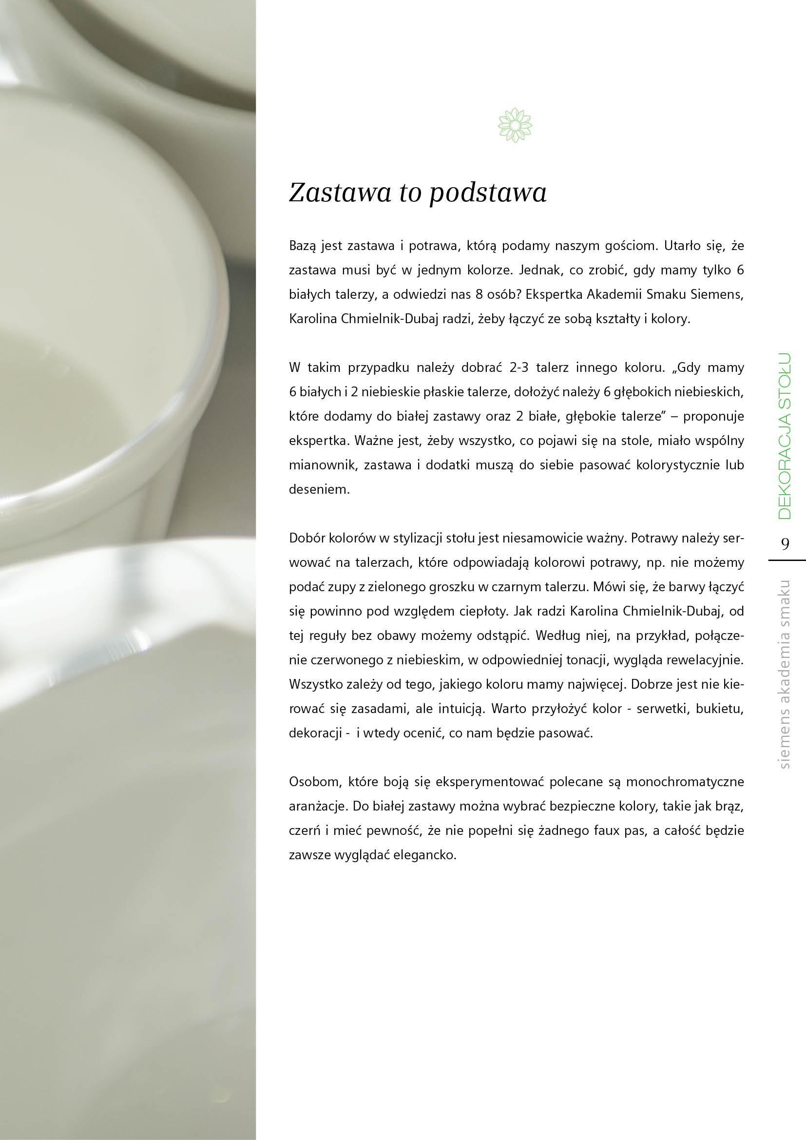 Dekoracja stołu - Strona 9