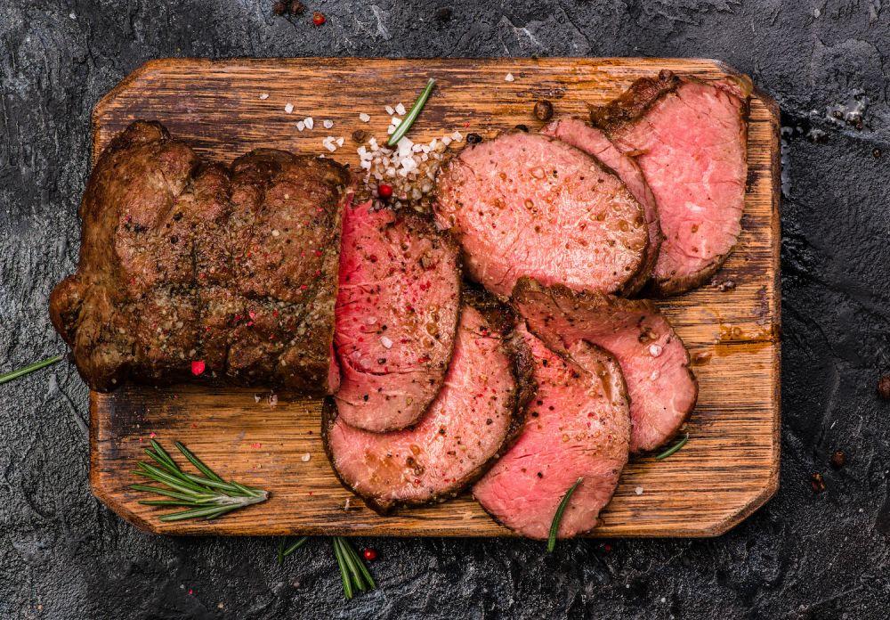 wołowina, mięso wołowe, pieczona wołowina