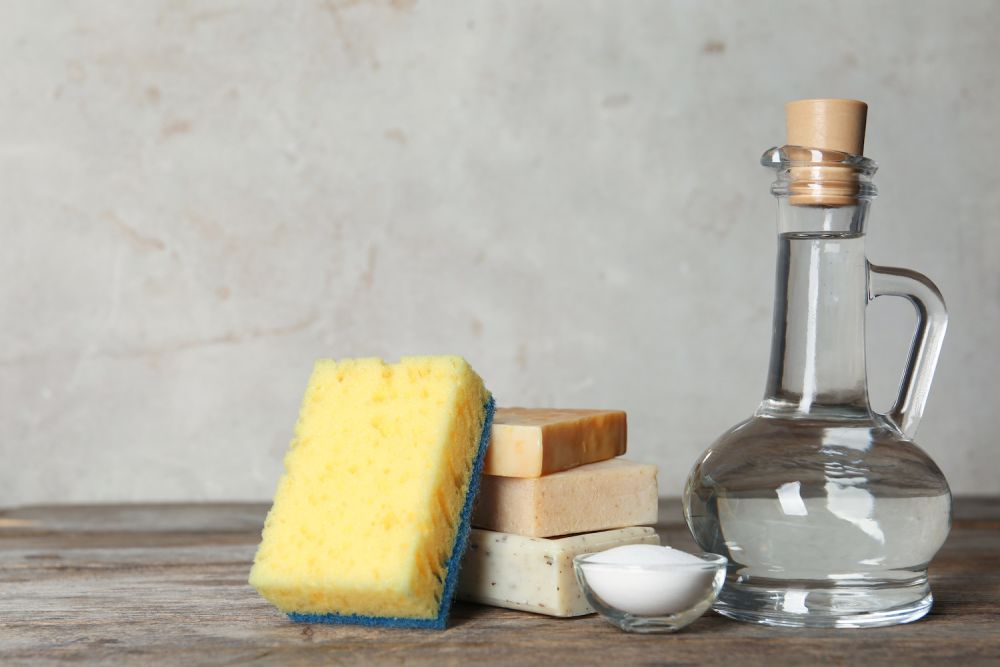 ocet, soda, ekologiczne detergenty, domowe proszki