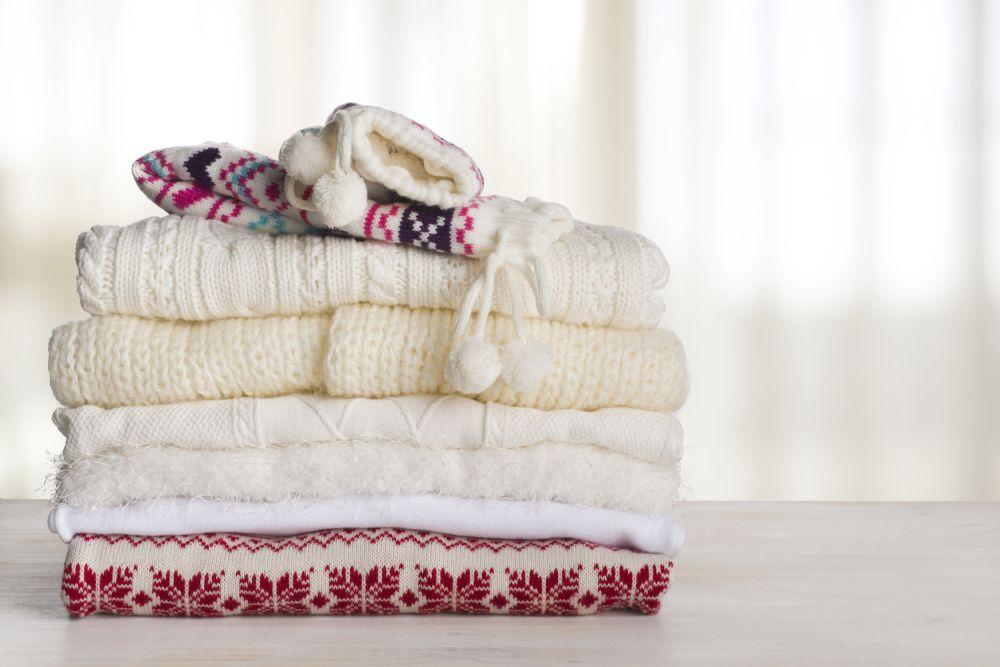 wełniane swetry