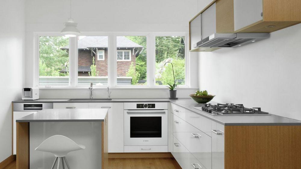 AGD do w zabudowie do białej kuchni