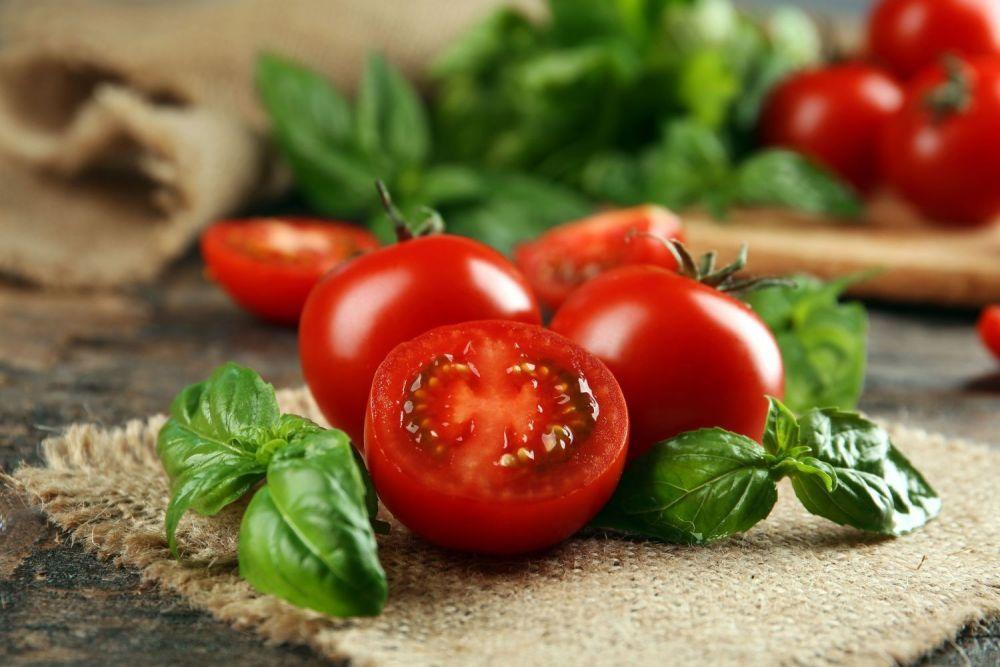 pomidory z bazylia