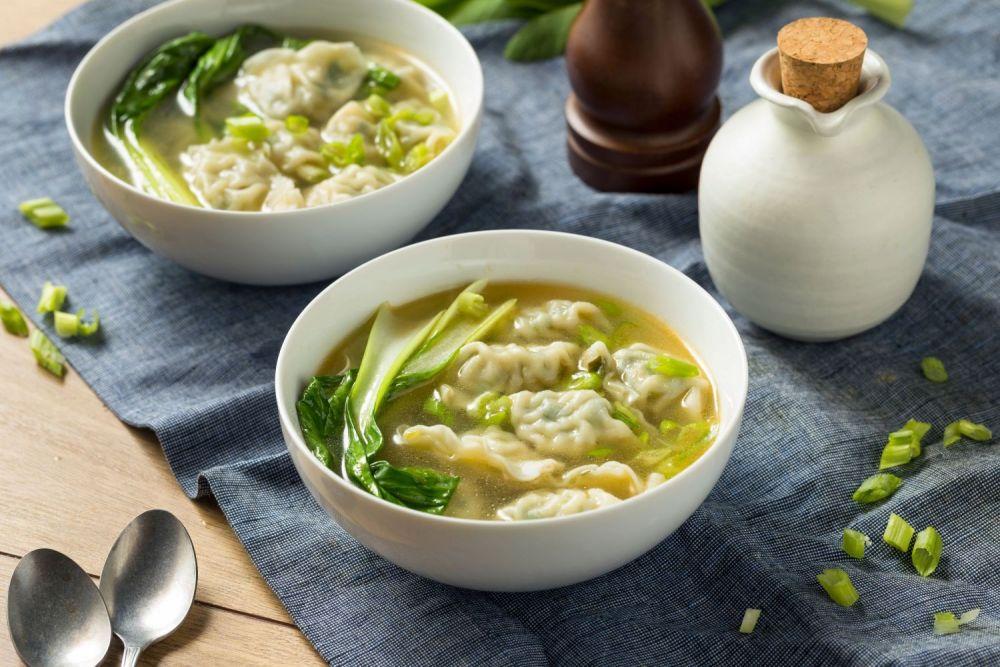 chińska kuchnia, zupa, kluski, pierożki