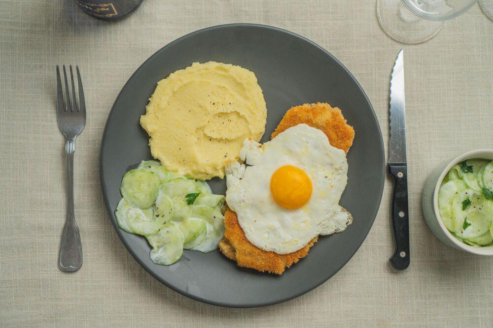 sznycel wiedeński, kuchnia niemiecka, sznycel po wiedeńsku przepis