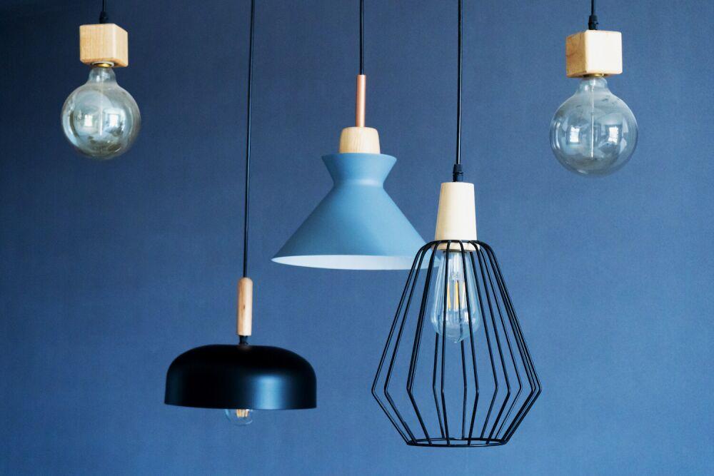 lampy w stylu industrialnym, oświetlenie do kuchni