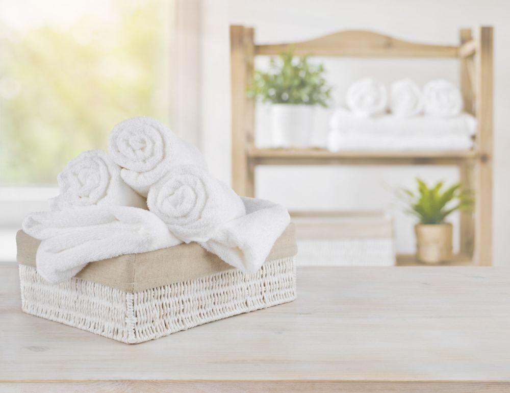 ręczniki, domowe spa