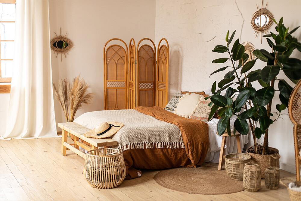 sypialnia w stylu hiszpańskim