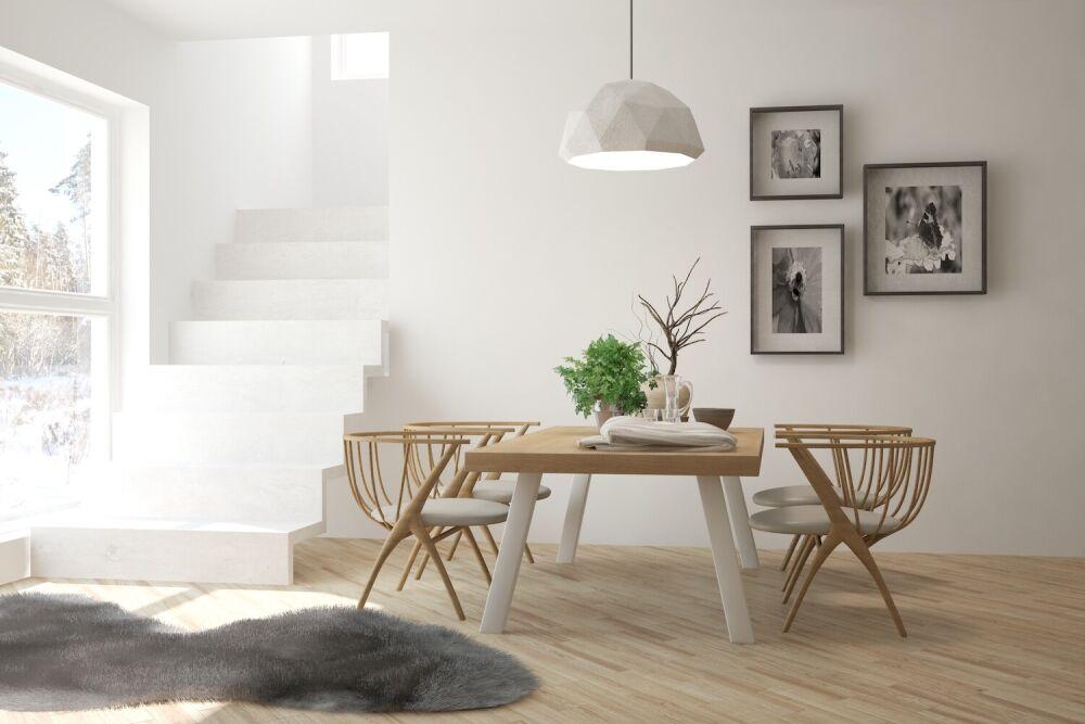 styl minimalistyczny w salonie