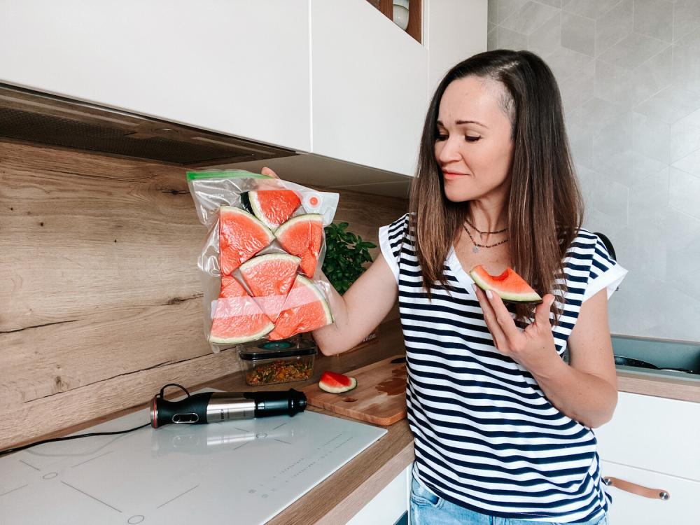 przechowywanie owoców w prózni