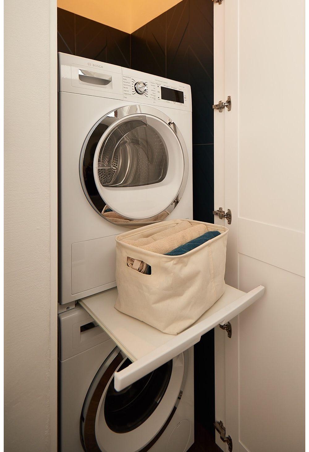 łącznik do pralki i suszarki w słupku