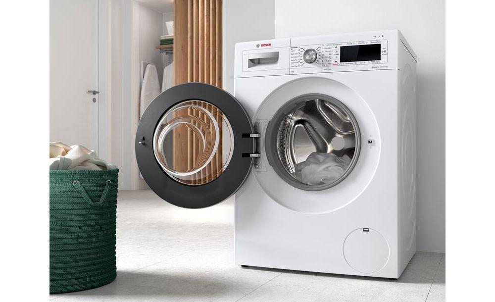 kosz na pranie, pranie w pralce