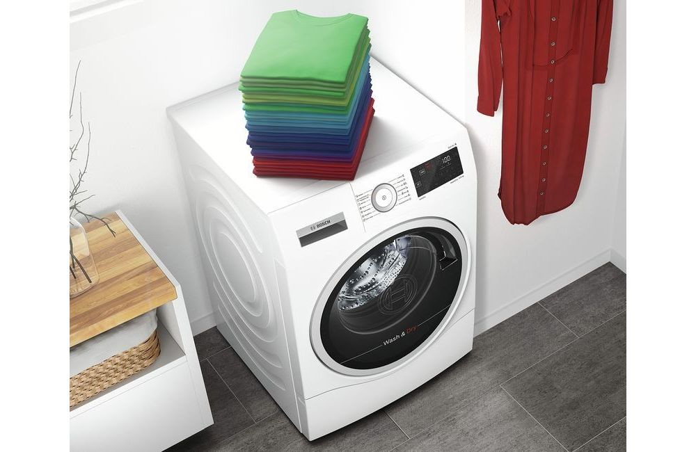 pralka ładowana od frontu, pranie na pralce, pralnia w domu