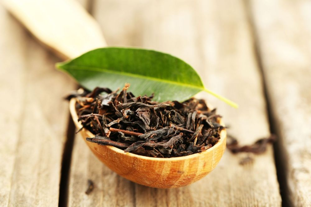 liście herbaty chińskiej