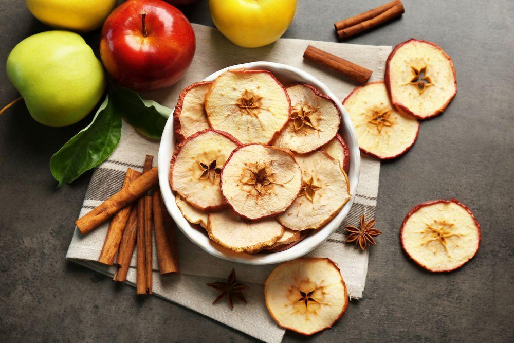 chipsy z jabłek