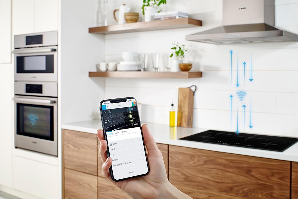 inteligentne sterowanie okapem i piekarnikiem home connect