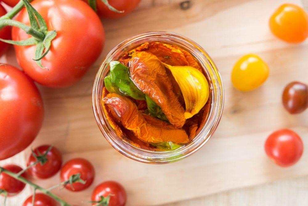 Suszone pomidory - zdjęcie 1